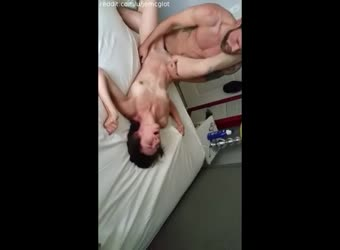Wife cums hard with big dick stranger