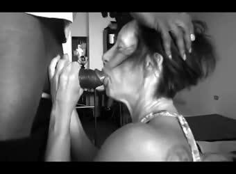 grandma sucking homemade amateur