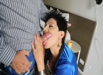 Latina wife has long fuck session with husband's boss
