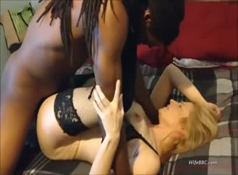 Beautiful wife in heaven with BBC