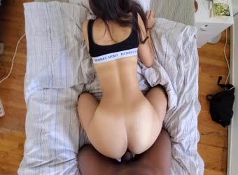 Asian girl tells him his BBC too big