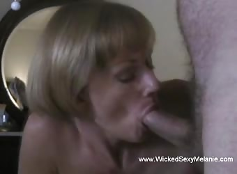 Amateur MILF Is A Wicked Cocksucker