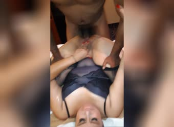 Shared wife with black lets him do anal